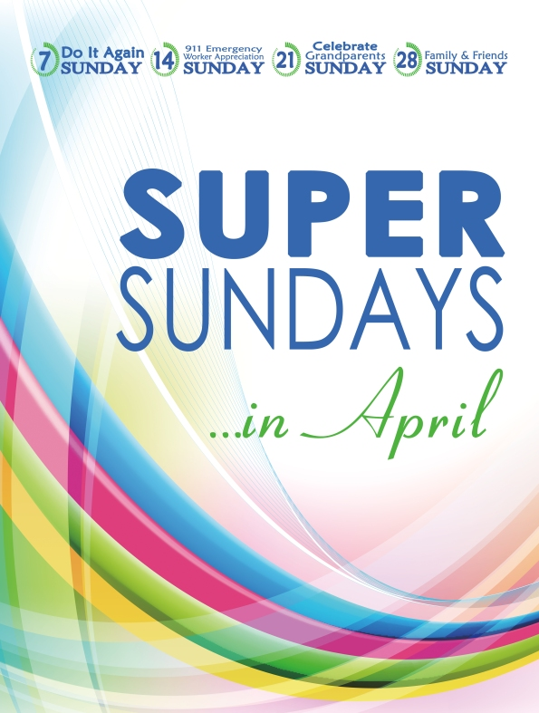 2013 Super Sunday Poster